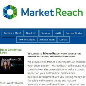 marketreach.biz screenshot of front page