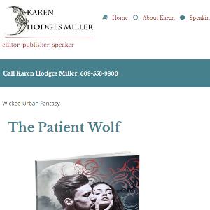 front of website for karenhodgesmiller.com