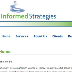 informed strategies screenshot